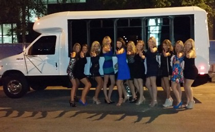 Birthday party bus rental Austin